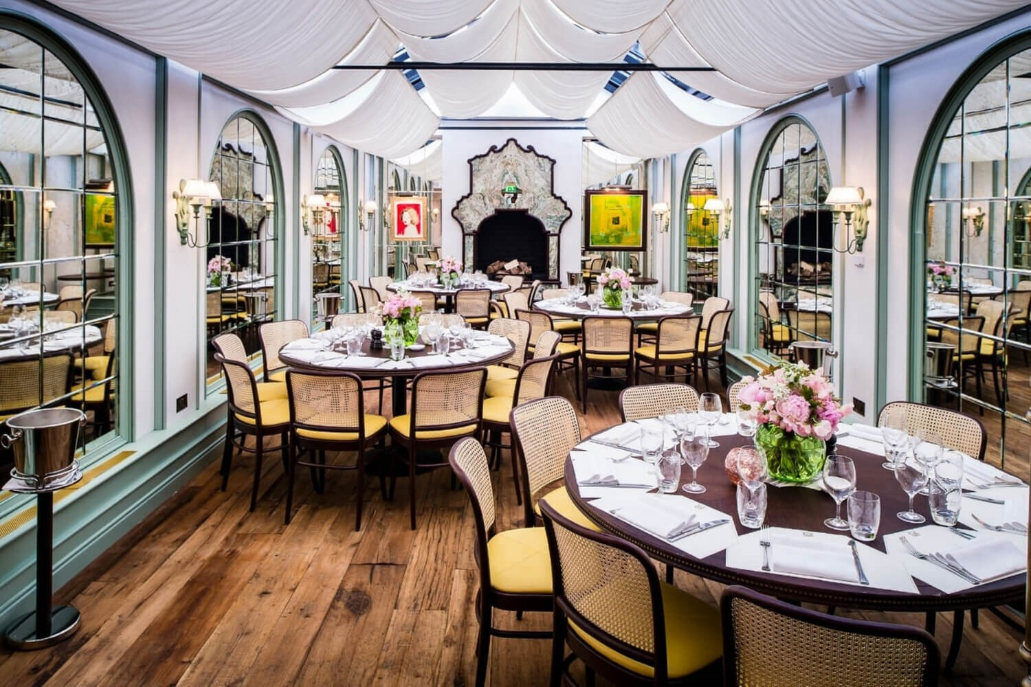 Daphne's Private Room in Chelsea is the ideal venue for wedding reception